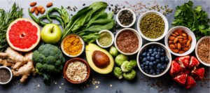 Header healthy food